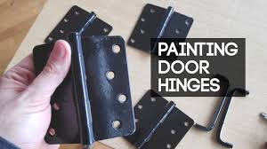 best spray paint for cabinet hinges how to paint door hinges