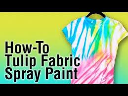 Metallic Gold Fabric Spray Paint - how to use tulip fabric spray paint youtube