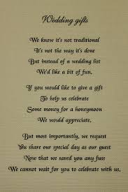wedding gift honeymoon fund honeymoon poem for wedding invites