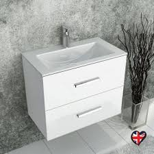 wall mounted sink cabinet sonix 1500 wall hung double basin vanity unit grey buy online at