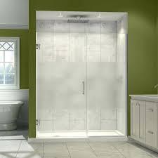 Delta Shower Doors Mesmerizing Swinging Shower Door Decor Also Hinged Catch Repair