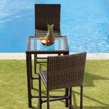3 Piece Bar Height Patio Set 53 Best Bar Height Patio Furniture Images On Pinterest Patios