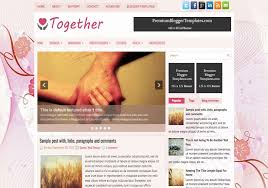 together love blogger template u2022 blogspot templates 2018