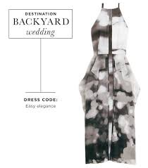 Dress For Backyard Wedding by Weddings 101 What To Wear To Every Kind Of Celebration Whowhatwear