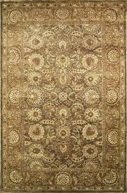 Indian Area Rug Upscale Handmade Rectangular Persian Sultanabad Area Rug And Green