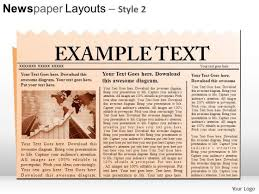 newspaper theme for ppt newspaper powerpoint templates slides and graphics