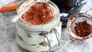 quick tiramisu in a kilner jar recipes food network uk