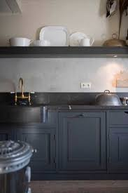 cuisine repeinte en noir cuisine repeinte en noir 1 peinture cuisine le gris anthracite