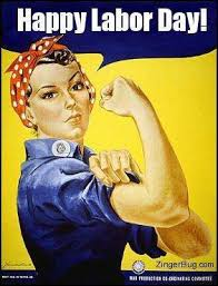 Labor Day Meme - happy labor day from rosie the riveter