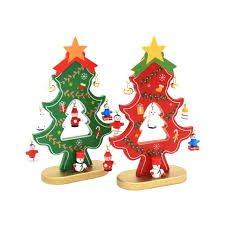 wooden christmas ornaments wooden christmas tree ornaments new diy desktop ornaments gifts