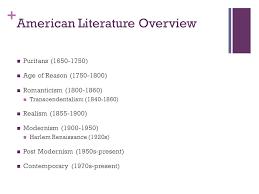 literature themes in the 1920s contemporary literature 1950 present american literature
