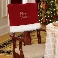 christmas chair covers improvements merry christmas chair covers set of 2 29 95