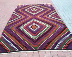 Large Kilim Rugs Bohemian Kilim Rug Etsy