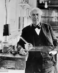 when was light bulb invented thomas edison stock photos and pictures getty images