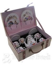 beatrix potter tea set large beatrix potter childrens tea set reutter porcelain teddy