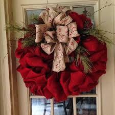 christmas burlap wreaths burlap bow christmas wreath festival collections