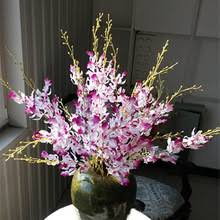 Fake Flowers For Home Decor Popular Oncidium Orchid Artificial Flowers Buy Cheap Oncidium