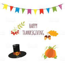 happy thanksgiving vector card template stock vector 609810474