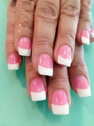 pink n white with uv gel nails pinterest uv gel and makeup