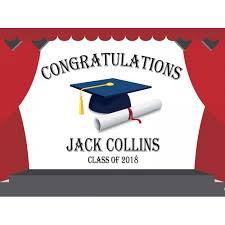 graduation poster poster congratulations banners school graduates personalized