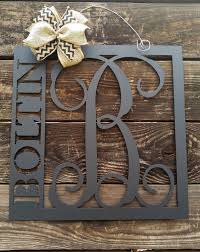 Family Wood Sign Home Decor Front Door Hanger Front Door Wreath Last Name Sign Home Decor