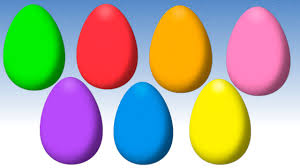 Easter Egs by Animated Surprise Easter Eggs For Learning Colors Part Iii Youtube