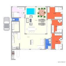 plan de maison 6 chambres plante d interieur pour plan maison 6 chambres élégant projet maison