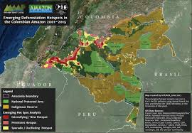 Colombian Map Colombia Expands Indigenous Reserves Near Key Deforestation Hotspot