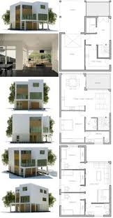 narrow lot house plan w1701 contemporary 3 floor house design for narrow lot affordable