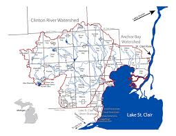 Maps Of Macomb County Michigan And Locals And Locations by Riversafe Lakesafe Clinton River Watershed Council