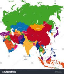 South West Asia Map Capital Cities Of Asia Map You Can See A Map Of Many Places On