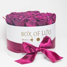 roses in a box box of luxe eternity roses lasts 6 months to 1 year the box of