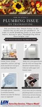 thanksgiving plumbing tips len the plumber