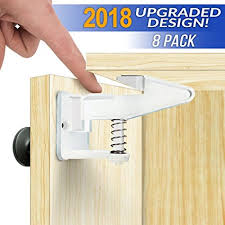 adhesive baby cabinet locks amazon com cabinet locks child safety latches quick and easy