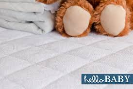 Crib Mattress Sheets Hello Baby Waterproof Crib Mattress Cover Quilted Ultra Soft