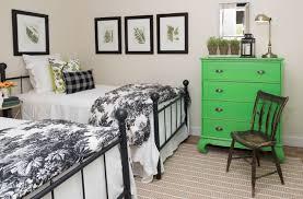Interior Frames Simple Black Wooden Bed