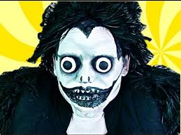 Death Note Halloween Costume Death Note Ryuk Makeover
