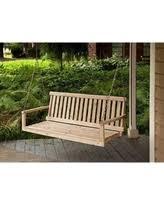 winter deals u0026 sales on log porch swings