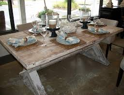 kitchen tables and benches rustic nail farm style table of also