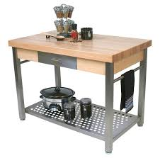 kitchen prep table with sink bowl 16 gauge 300 series stainless