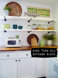 flea market trixie dark tung oil butcher block countertops