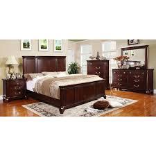 Best Furniture Favorites Images On Pinterest  Beds - Lorrand 5 piece cherry finish bedroom set