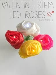 valentine steam led roses teach beside me