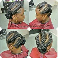 african fish style bolla hairstyle with braids big jumbo goddess braids braid it up sew it up pinterest