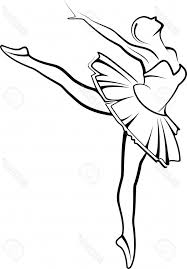 simple ballerina drawing simple ballerina sketch sketch coloring