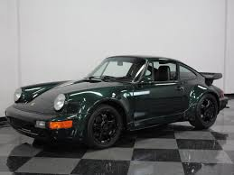 porsche 911 dark green 1974 porsche for sale 32165 mcg