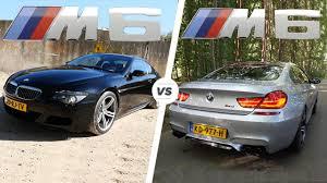 bmw m6 v10 bmw m6 2017 v8 f12 vs bmw m6 2007 v10 e63 acceleration top speed