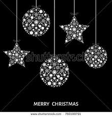 green tree decoration stock vector 726415717