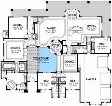 courtyard house plan center courtyard house plans home planning ideas 2018
