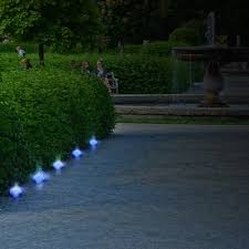 Garden Led Solar Lights by Led Solar Ice Rock Crystal Glass Landscape Light Cube Brick Lamp